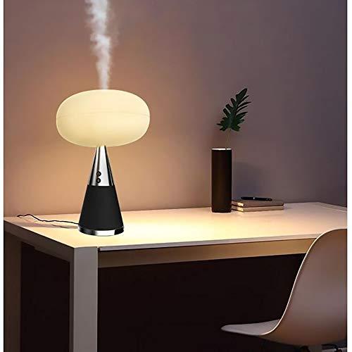 AJJA Multifunktionaler Intelligenter Luftbefeuchter/Bluetooth-Lautsprecher/Aromatherapie-Physiotherapie-Musiktischlampe/Nachtlicht Light Up Leben