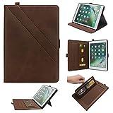 LEMOUTON YZ-162-FR YZ-162-FR Tablet-Schutzhülle, iPad 9.7 (2017&2018) iPad Air 2, Dunkelbraun