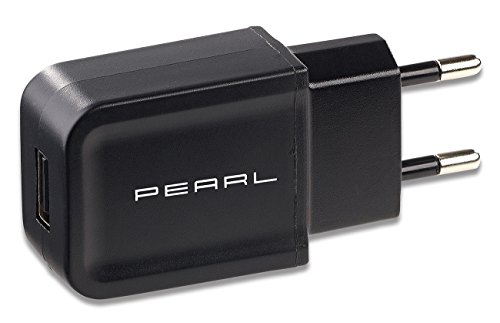 PEARL Handy Ladegerät: Kompaktes USB-Netzteil (5 V) mit 2 A Ladestrom, 10 Watt Output-Power (USB Steckernetzteil) (Ipad 10w Usb Power Adapter)