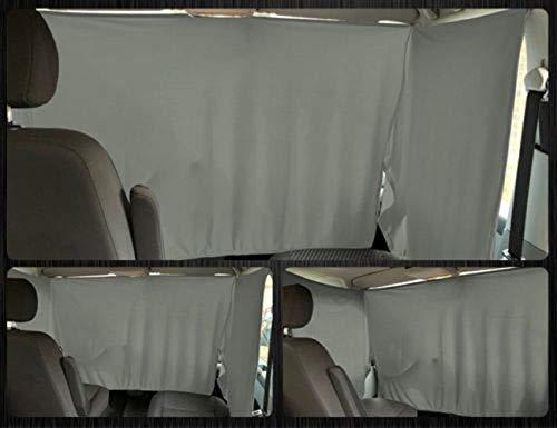 VW T4 Frontgardinen Frontscheiben Gardinen Vorhänge ab BJ 1996 Farbe: Grau
