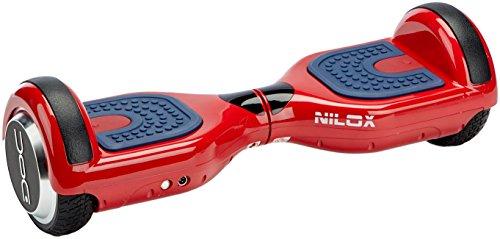 Nilox Plus UL 2272 Doc Hoverboard Bluetooth, Geschwindigheit 10 Km/h, Rot, 25.7 x 28 x 65.5 cm - 2