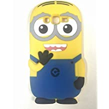 Carcasa 3D de silicona para Samsung Galaxy Core Prime G360, diseño de Minion, color amarillo