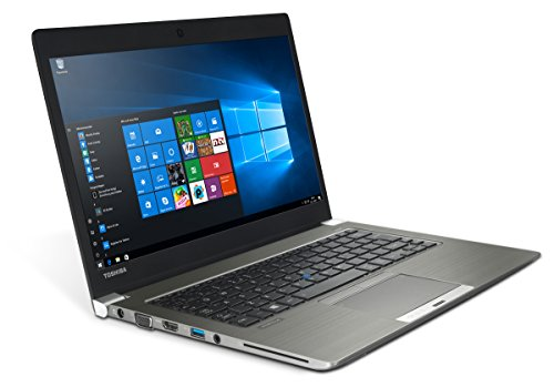 Toshiba Portege Z30 - 13,3 pollici HD portatile Notebook - Intel Core i5 - 4310U 2 X 2 GHz 4 GB DDR3 SSD 128 GB - Windows 10 Home 64bit (Certificato e General tramite Holt)