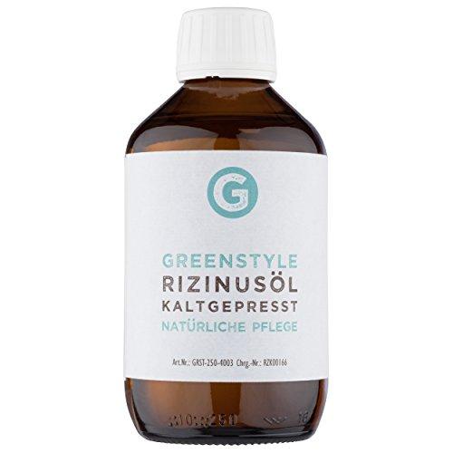 Rizinusöl kaltgepresst (250ml) - 100% reines Öl zur Pflege von Haut und Haaren