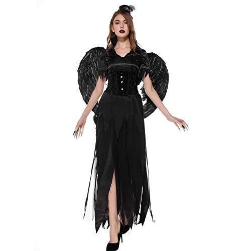 Angel Baby Little Kostüm - Your little world Halloween-Kostüm für Halloween, Junggesellinnenabschied, Kostümpartys, Geburtstage, Themenveranstaltungen und mehr Gr. Medium, Night Angel