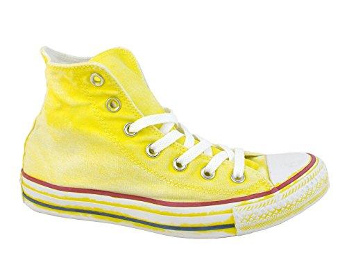Converse Damen All Star Hi Sportschuhe, hochgeschlossen, gelb, 39 EU