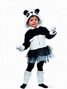 Limit Sport - Disfraz de oso panda con tutu, para niños, talla L (MB678)