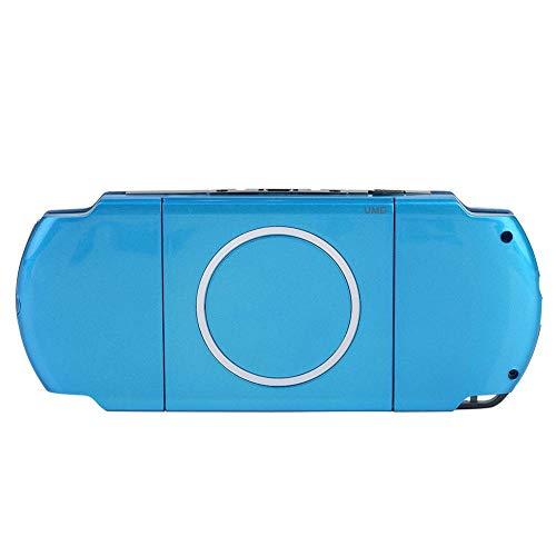 Tonysa Spiel Shell Case Ersatzteile,Spiele Volle Gehäuse,Abdeckung Shell Protector für PSP 3000,Kompatibel mit starkem Schutzeffekt/hochwertigem PC Material/modischem Erscheinungsbild(Blau) (Und Abdeckungen Psp Gehäuse)