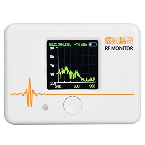 Elektromagnetisches Strahlungsmessgerät XT-120, 1,44-Zoll-Strahlungsdetektor-EMF-Messgerät, tragbarer Signal-Strahlungsdetektor-Zähler, 240M, 960M, 2300M, 2900M, digitaler Strahlungsprüfer -