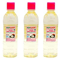 FITLITE Pack of 3 Healthy Coconut Oil 0.5 LTR