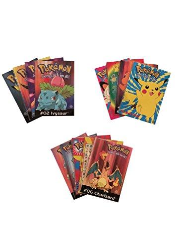 Pokemon Einladungskarten (Postkarten) (Sammelkarten) verschiedenen Motive 20er Set jeweils 4 einzeln verpackt Din A6