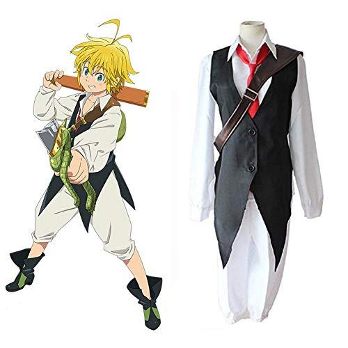 GGOODD Anime The Seven Deadly Sins Cosplay Kostüm...