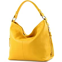modamoda de - ital. Ledertasche Shopper Damentasche Bürotasche  Schultertasche Leder T160
