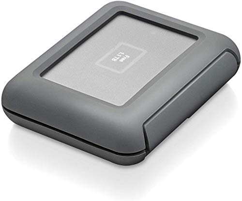 LaCie Rugged Dji Copilot, 2 TB, tragbare externe Festplatte mit Akku u. CardReader, 2.5 Zoll, USB-C, Card Reader, Mac, PC