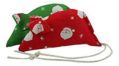 Molly's Christmas Catnip Mice - pack of two.