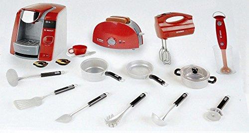 Preisvergleich Produktbild Klein 9542 - Bosch große Küche Set mit Tassimo Kaffeemaschine