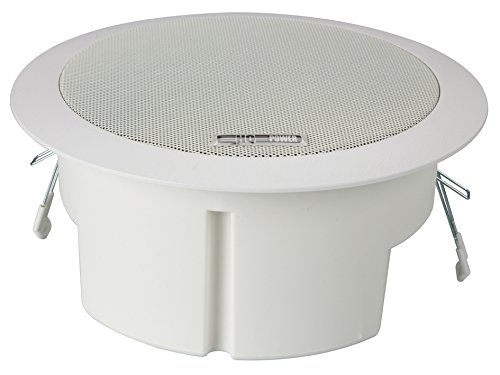 HQ VDSMB12 - Altavoz de techo (100 V, 8 Ohm, 120 Hz...
