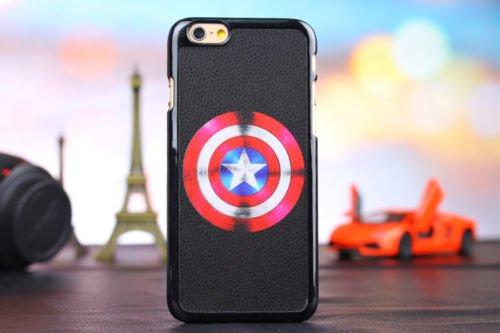 New Super Hero Hard Case für Apple iPhone 5/5S .5se & 6/6S, Spiderman, APPLE IPHONE 5SE CAPTAIN AMERICA