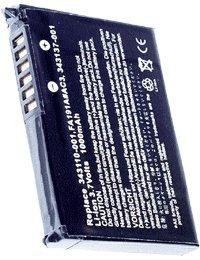 Akku für HP IPAQ Pocket PC PE2081AS, 3.7V, 1250mAh, Li-Ionen