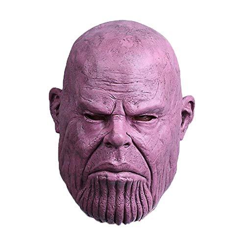 Halloween Masken Thanos Mask Kopfbedeckungen Avengers Halloween Adult Requisiten Videospiele Rund Um Cosplay Alliance 3 Infinite War - Videospiel Kostüm Männer