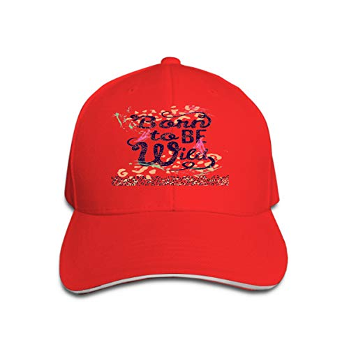 Xunulyn Unisex Mesh Hat Adult Baseball Caps Sunshade Hat Snapback Cap Born to be wild Leopard Graphic Designs (Born To Be Wild Kostüm)