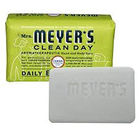 Mrs. Meyer's Bar Soap - Lemon Verbena - 5.3 oz - Case of 12 by Mrs. Meyers