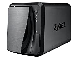 ZyXEL [NAS520] 6TB Personal Cloud Storage [2-Bay] for Home with iOS & Android Remote Access and Media Streaming (Built-in 2 x 3TB Enterprise NAS HDD)- Retail