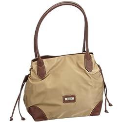 Gabor GRANADA Handtasche 6582 20 Damen Henkeltaschen 42x28x18 cm (B x H x T), Beige (beige 20)