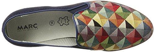 Marc Shoes Romy, Mocassins femme Blau (Blue-Combi)