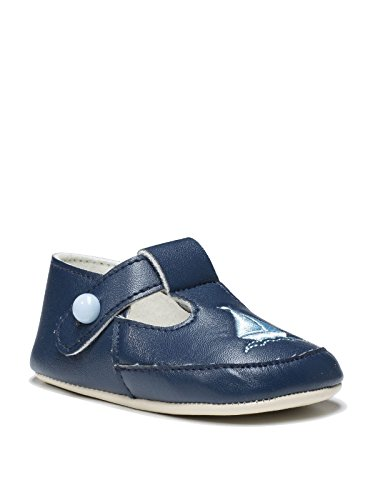 Little Cutie Babyschuhe für Jungen, Schuhe für kleine Jungs, Taufschuhe, 0-18 Monate, Blau - navy - Größe: 3-6 monate