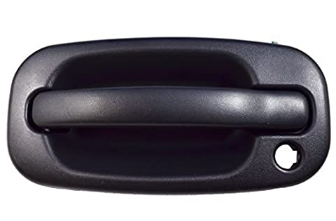 PT Auto Warehouse GM-3523A-FL - Outside Exterior Outer Door Handle, Textured Black - Driver Side Front by PT Auto