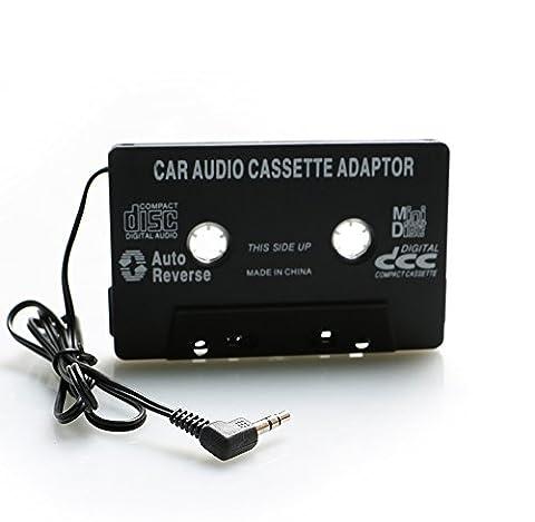 Cassette Jack - Cassette de Voiture Adaptateur Autoradio pour iphone/ipod/Samsung