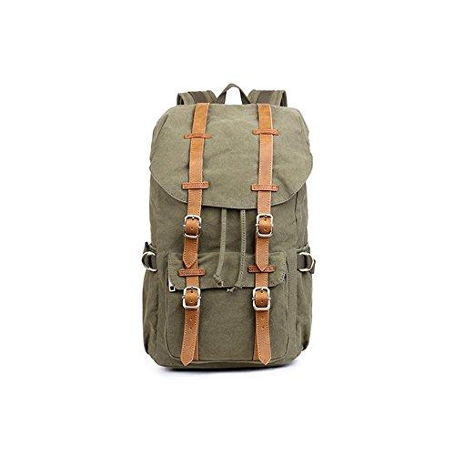 Preisvergleich Produktbild TT Außen Umhängetasche Neutral-Beutel-Rucksack faltbare Reisetasche , army green