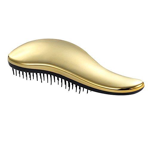Contever® Cepillos para el pelo Para todo tipo de cabello No más enredos (Oro)