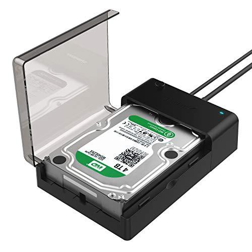 Sabrent Dockingstationen - USB 3.0 zu SATA externer Festplatte Lay-Flat-Dockingstation fü