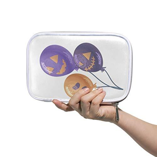 loween-Ballon-Make-up-Pinseltasche mit Reißverschluss, große Kapazität, Stift-Organizer ()