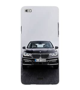 Luxury Car 3D Hard Polycarbonate Designer Back Case Cover for Micromax Canvas Sliver 5 Q450