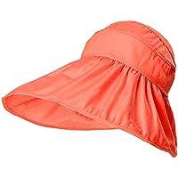 Zoylink Sombrero De Sol para Mujer Sombrero De Playa ProteccióN UV Sombrero  De Visera De Playa d35d40bf7ed