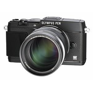 Olympus-V311040BE000-MZuiko-Digital-ED-75-mm-118-Objektiv-fr-Micro-Four-Thirds-Objektivbajonett-150-mm-KB