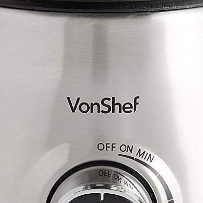 VonShef-Standmixer-1000W-mit-Glasbehlter-Impuls-Eiscrushing-Smoothie-Funktionen-15L-Kapazitt