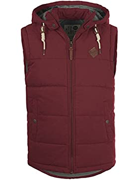 SOLID Dry - Chalecos para Hombre, tamaño:XXL;color:Wine Red (0985)