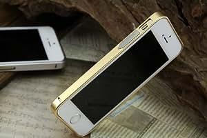 Supra Premium Luxury Ultra thin 0.7mm Designer Aluminum Metal Bumper Case Cover Frame for Apple iPhone 5 5S 5G by Supra - Gold