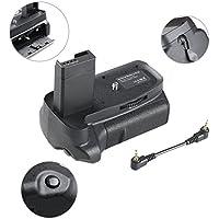 Empuñadura de Batería BG-1H para Canon 1100d 1200d 1300d Rebel T3 T5 T6 EOS Kiss X50 DSLR, Battery Grip Empuñadura Vertical Profesional Batería Grip Funciona con 1 o 2 Piezas LP-E10