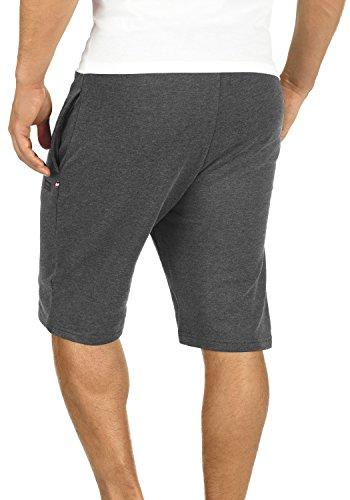 PRODUKT Jeromé Herren Sweat-Shorts kurze Hose Sport-Hose aus hochwertiger Baumwollmischung Dark Grey Melange