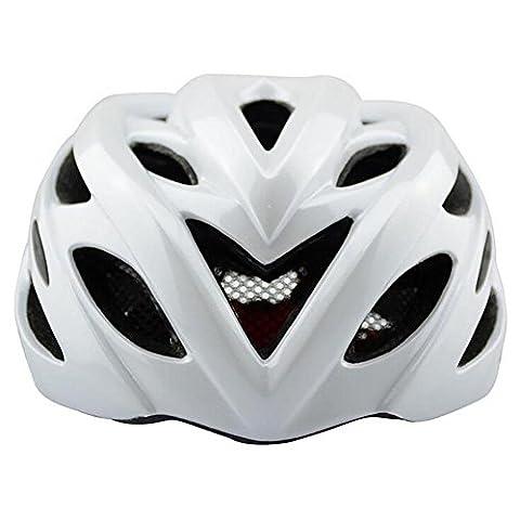 Lei HuanLeBao Fahrradhelm Professionelle Qualität Ein Molding Reithelm Männer und Frauen können , white