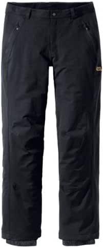 jack wolfskin thermo actice winter softshell pants herren
