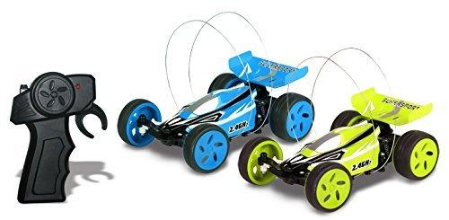 Top Race® Extrem Hochgeschwindigkeitsfernsteuerungsauto, 2,4 GHz, neuestes Design, schnellste Mini-RC aller Zeiten (Farben variieren)