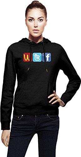 Logo Fun WTF McDonalds Twitter Facecbook Womens Hoodie X-Large