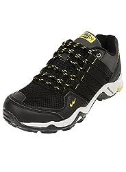 Campus Men Triggeer Black Running Shoes