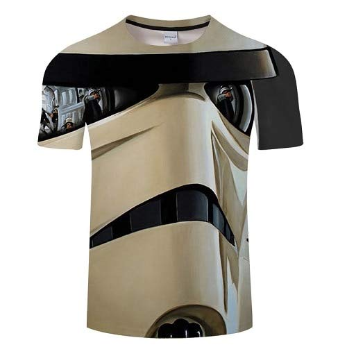 KYKU Uomini Darth Vader Heavy Metal Printing Designer Divertenti T-Shirt Manica Corta Tee Moda Creativa Star Wars Magliette Hip Hop Tops
